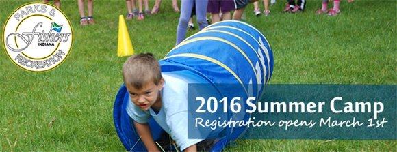 2016 summer camp registration opens March 1st.