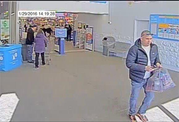 Photo of theft suspect