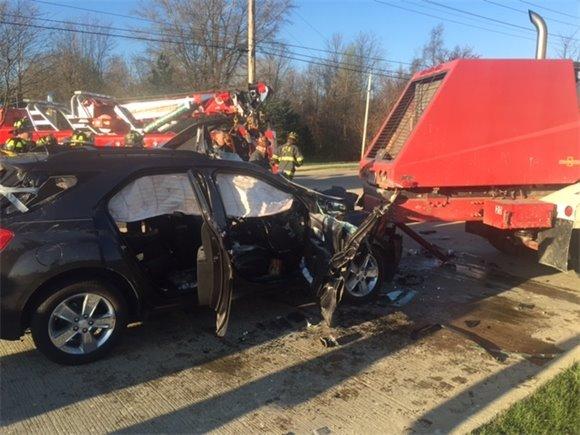 Motor Vehicle Crash on 116th Street