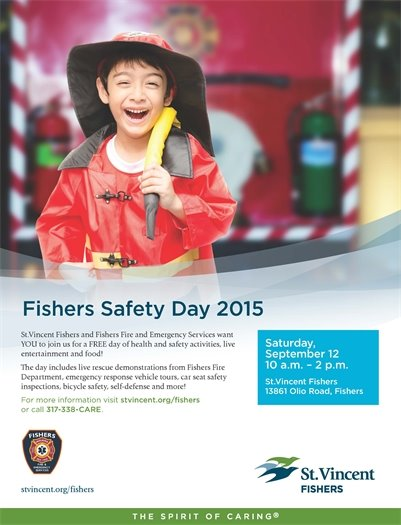 Fishers Safety Day 2015