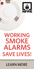 Smoke Tip Button Alarm