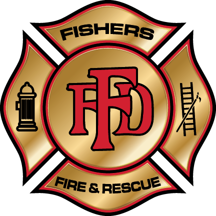 Fishers Fire Department Logo Badge