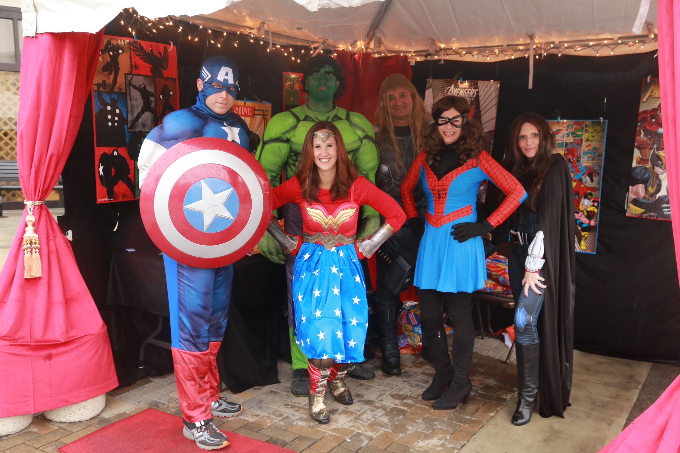 mayor's office at boo bash