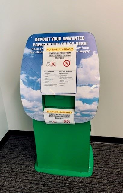 Prescription Drug Drop Box