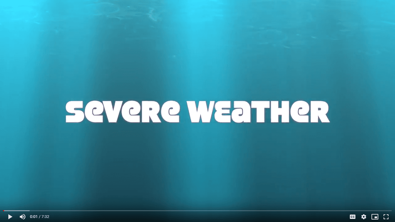 severe weather: thunderstorms video