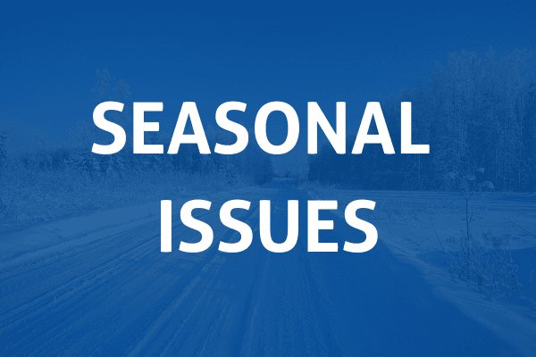 SEASONAL ISSUES