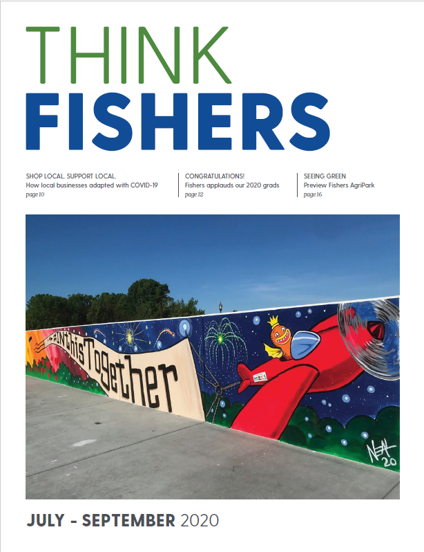 think fishers cover july 2020 Opens in new window