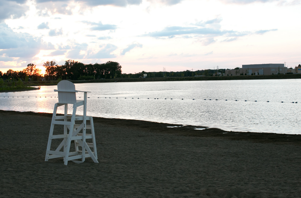 saxony beach guard chair