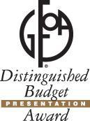 gfoa budget award logo