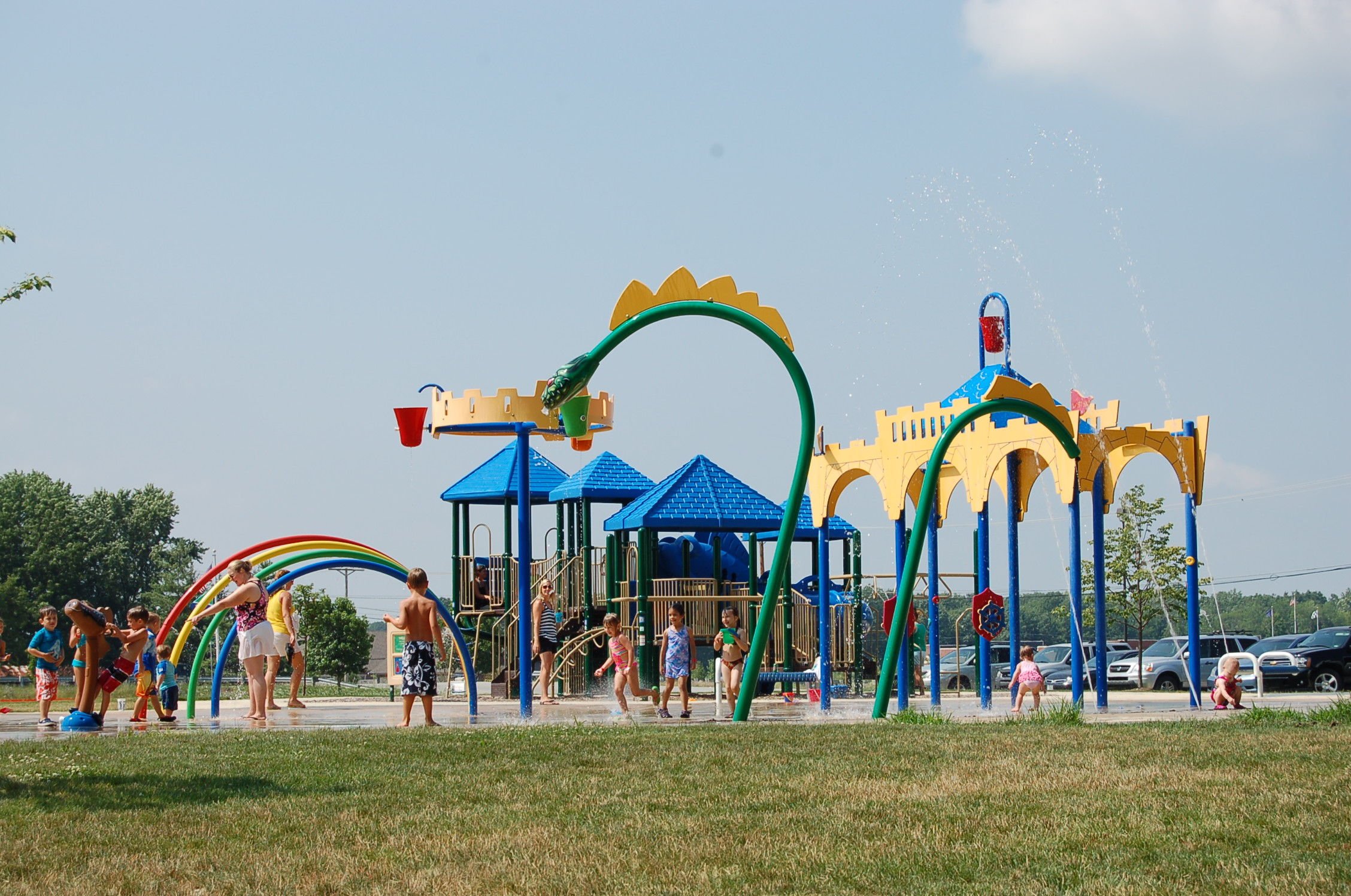 Billericay Park Splash Pad