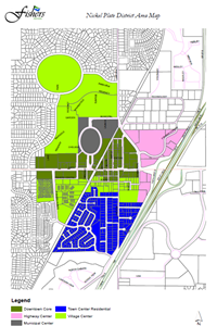 nickel plate district map